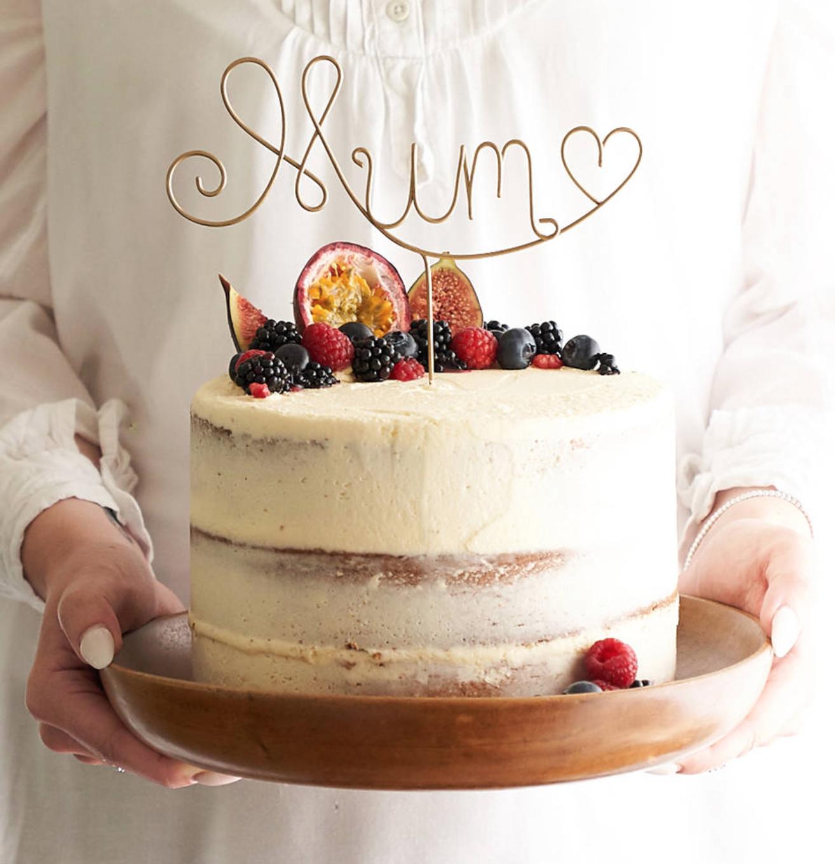 Mum Cake Topper - £25.00