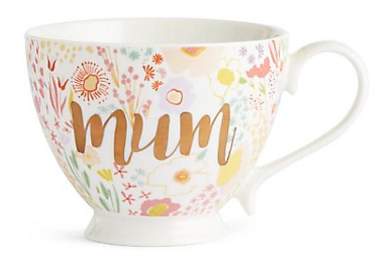 Floral Mum Mug - £6.00