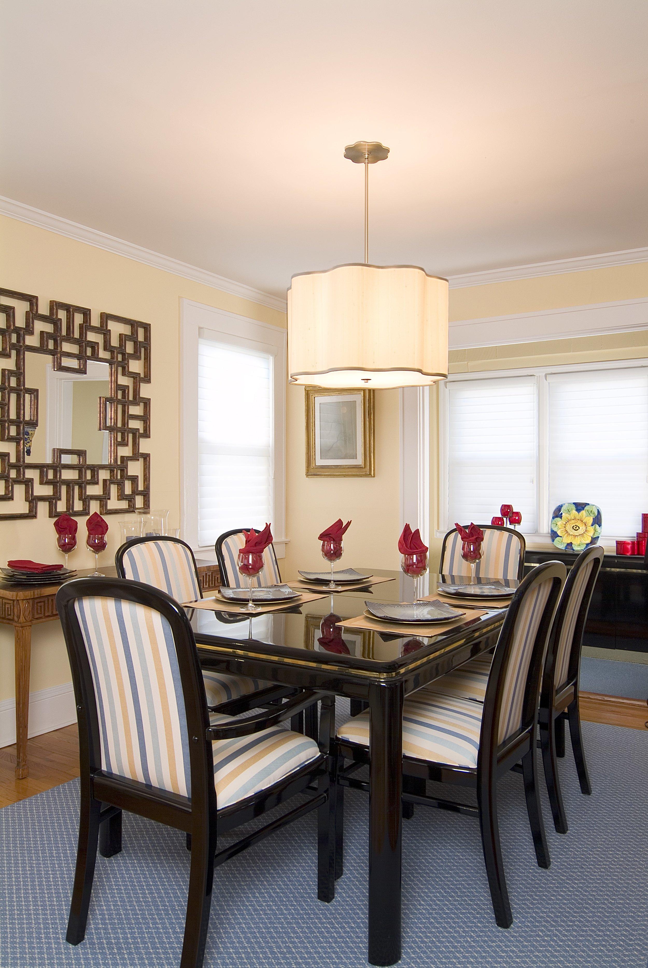 Bailiwick Interior Design - Dining Room Repurpose Drum Shade Chandelier.jpg