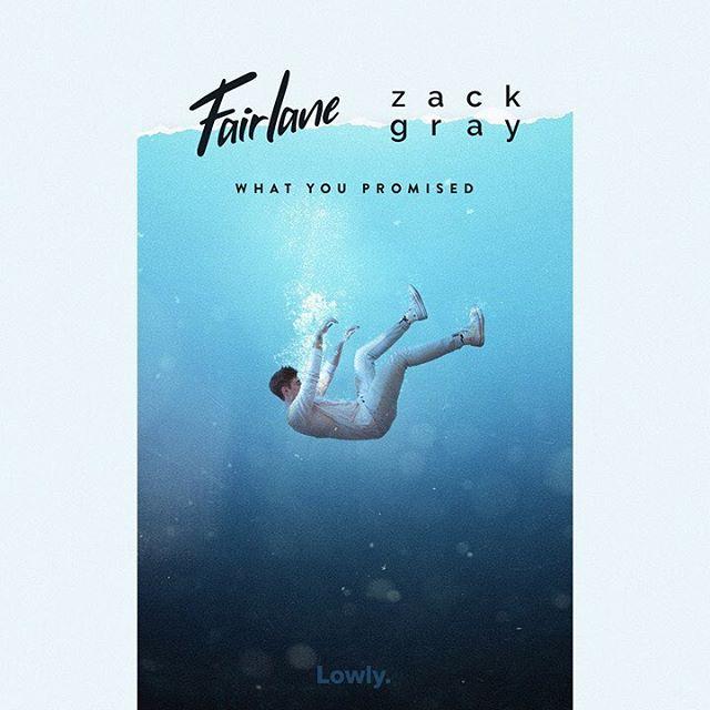 w h a t  y o u  p r o m i s e d •  5 / 2 3 💧 @fairlanemusic @lowly @trapnation . . . . #zackgray #fairlane #lowly #trapnation