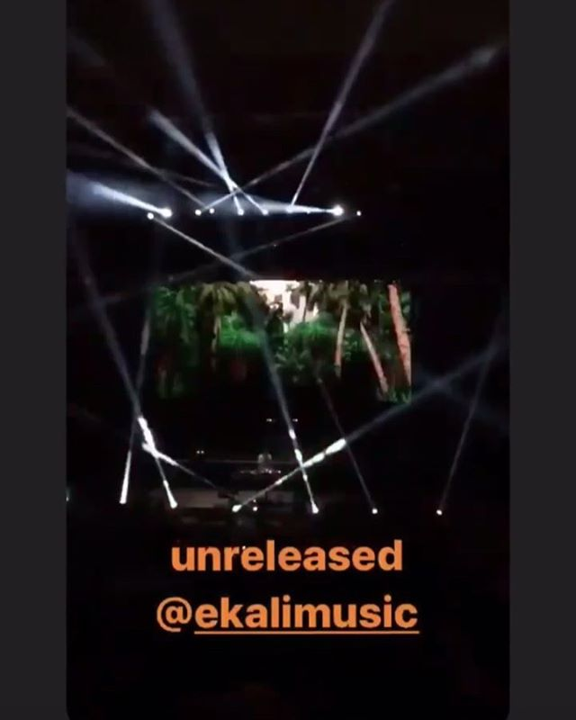 Still speechless that @ekalimusic just played an unreleased track with my vocal sample from #xlove (@hexcougarmusic) / #alove last night, to a sold out crowd at Red Rocks with @alisonwonderland and @medasin • It is dream of mine to play that venue, and I'm still in shock that my voice has now already come out of those speakers. So much love bro! #Ekali x #ZackGray on the way! 🥀🌹