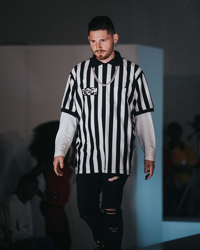 S A R A P / / / I had a lot of fun being a Ref and walking for my boy @the.sarap the last two nights at @cmxxdtlv 🌹 @thuirer 📷 #fashionweek #dtlvartsdistrict #supportlocal #supportyourfriends #lasvegas #cmxxdtlv