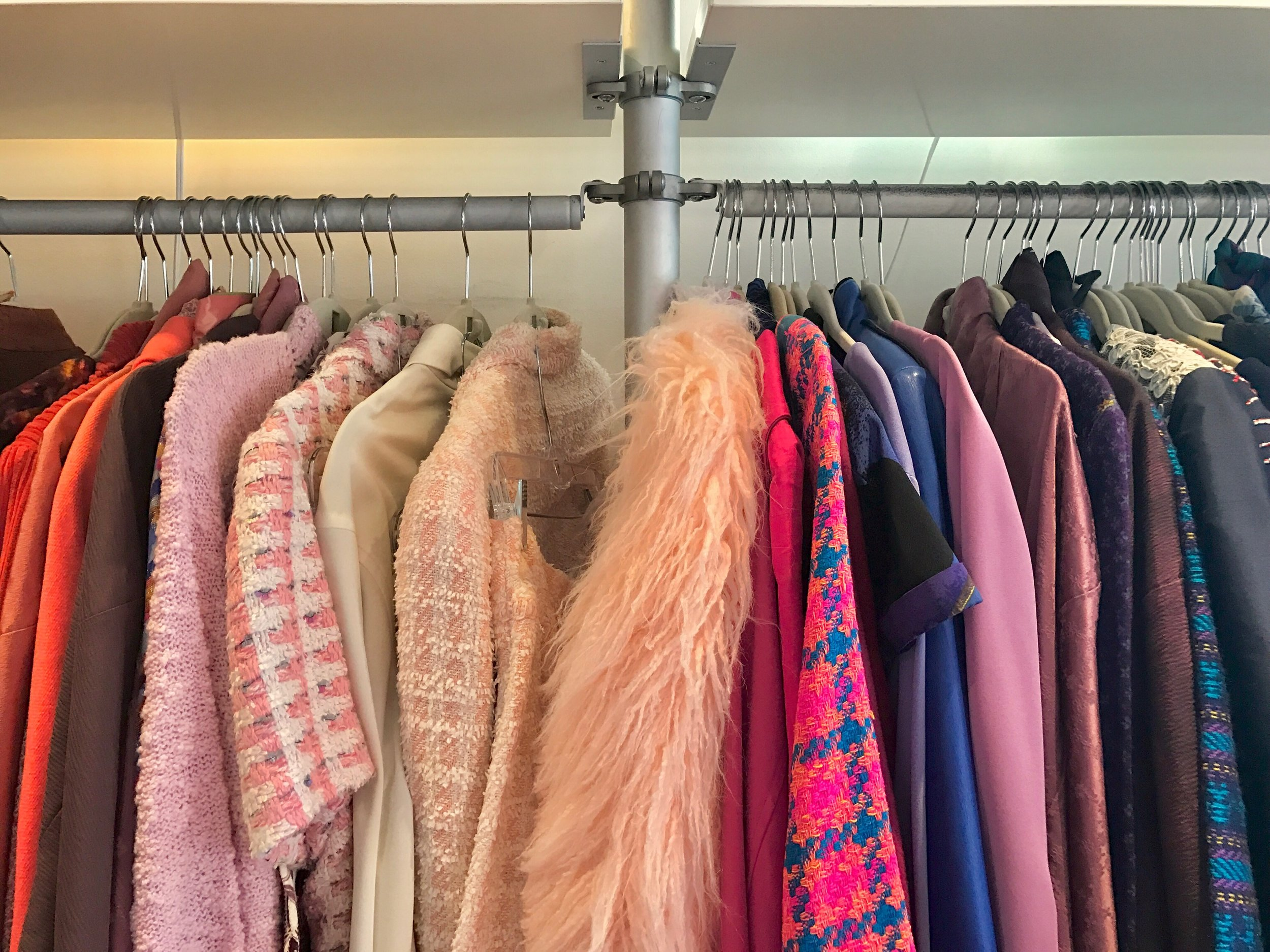 Chanel suits to unique finds, in every color and material.