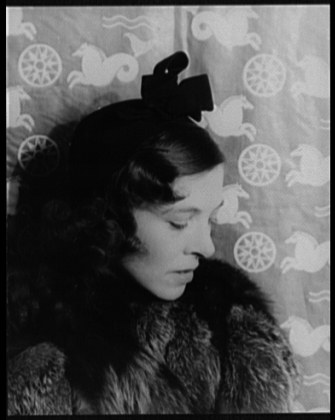Carl Van Vechten,  Portrait of Bibi Dudensing , April 14, 1937; Library of Congress, Prints & Photographs Division, Carl Van Vechten Collection, Lot 12735, no. 346