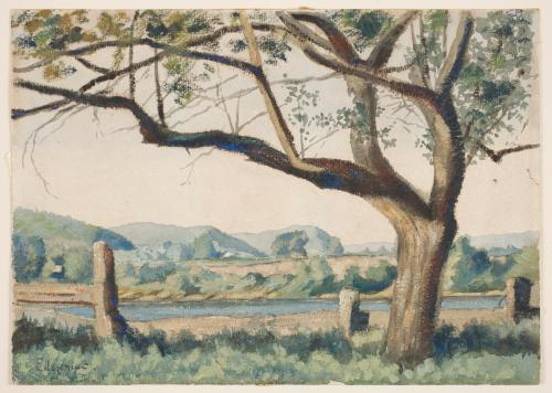 Springtime , c. 1901, watercolor, Worcester Art Museum