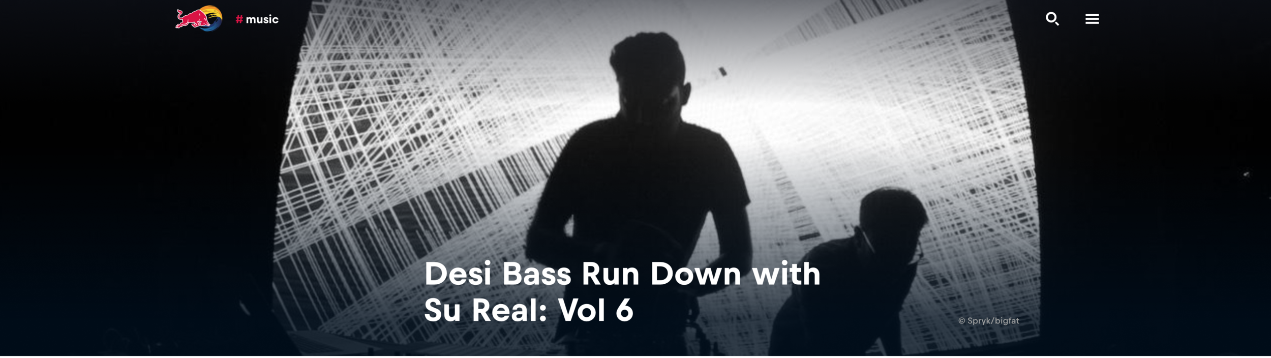 Red Bull : Desi Bass Run Down