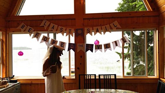Laura's Last Sail before the Veil – Bachelorette Party