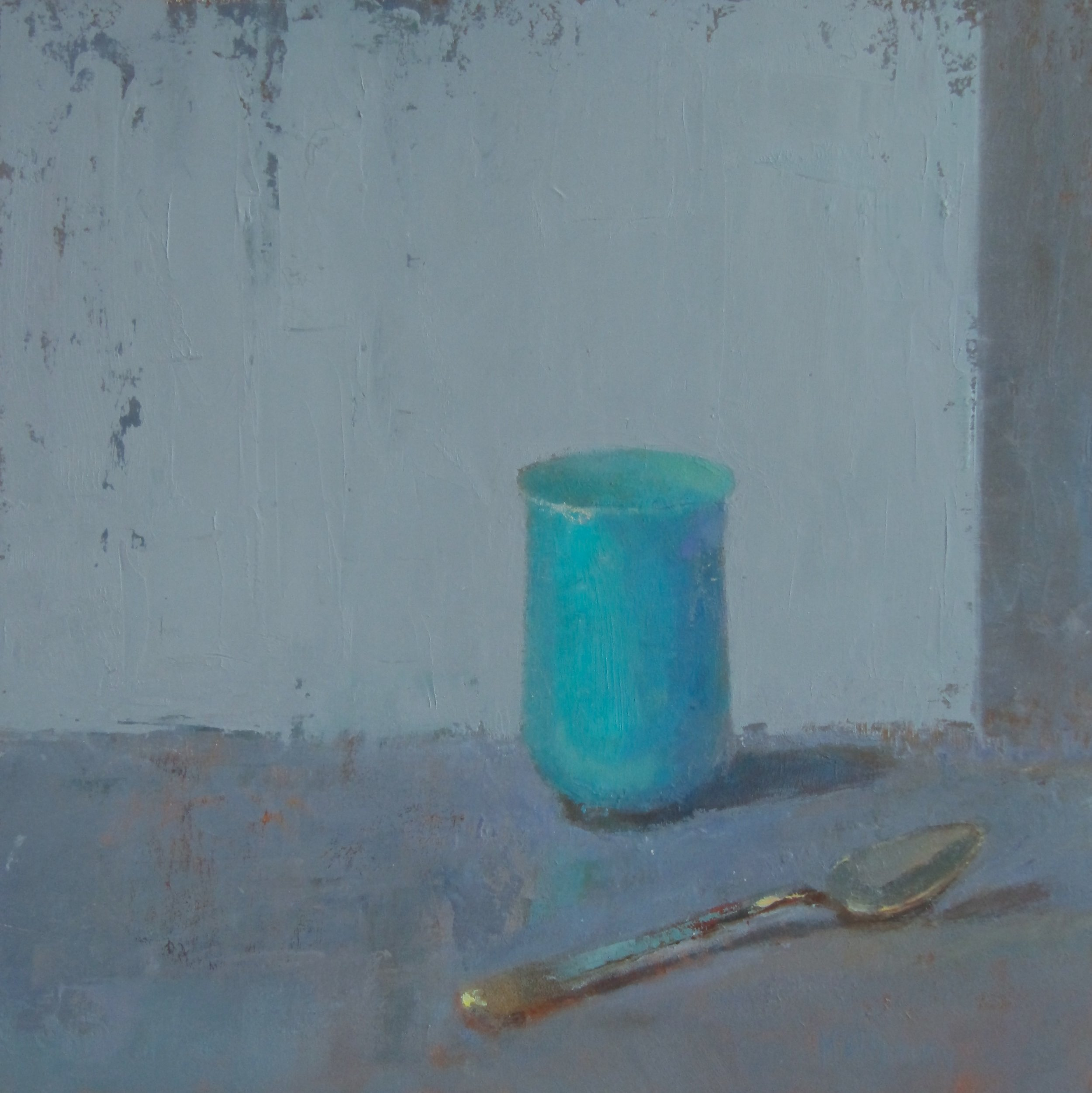 Silver Spoon and the Turquoise Cup.JPG