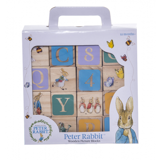 Beatrix Potter Wooden Learning Blocks - $44.99     Buy Here