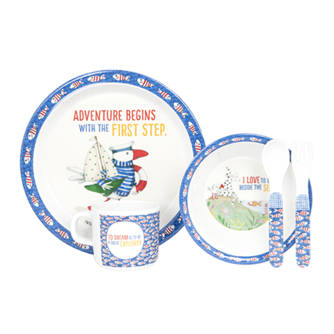 Twigseeds Adventure Begins Dinner Set - $29.99 -  Buy Here