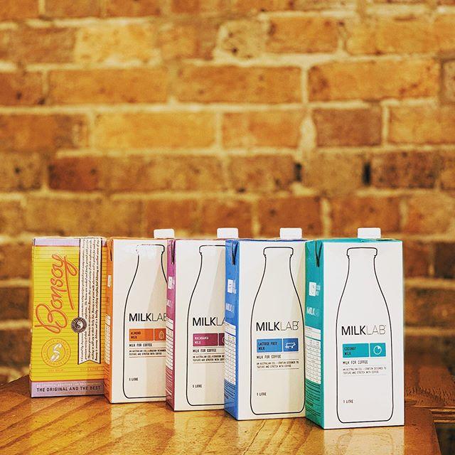 Specialty alternative milk for specialty coffee @2.0coffeeco #coffee #coffeeshop #bonsoy #soymilk #almondmilk #macadamiamilk #lactosefreemilk #coconutmilk #cafe #sydneycafe #sydneycafes #darlinghurst #darlinghursteats #darlinghurstcafes #sydney #sydneyaustralia #sydneycafes #sydneycafe #coffeeaddict #coffeeaddicts