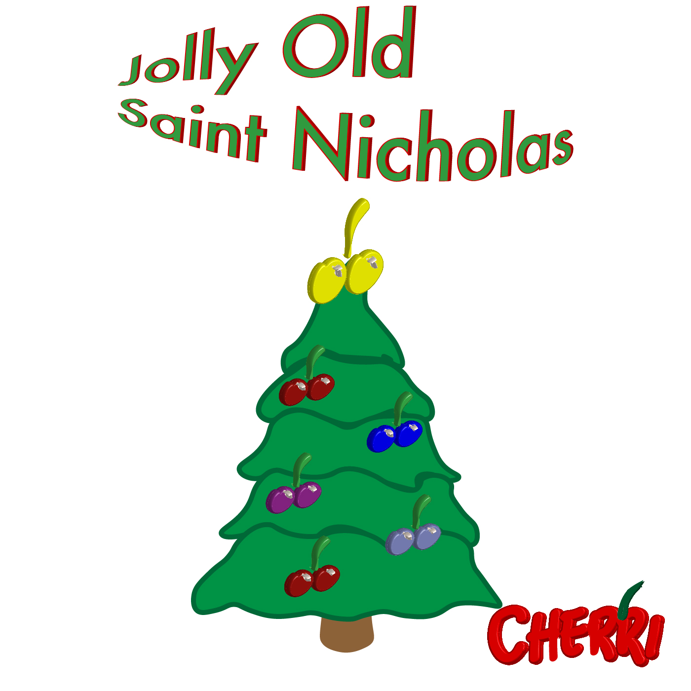 Public Domain: Jolly old St. Nicholas, Lean your ear this way! Don't you tell a single soul, What I'm going to say; Christmas Eve is coming soon, Now, you dear old man, Whisper what you'll bring to me: Tell me if you can. What it's gonna be, Santa. Underneath the tree, Santa. What it's gonna be, Santa. Leave this year for me. What it's gonna be Santa. Underneath the tree Santa. What it's gonna be Santa. Leave this year for me. When the clock is striking twelve, When I'm fast asleep, Down the chimney broad and black, With your pack you'll creep. All the stockings you will find Hanging in a row; Mine will be the shortest one, You'll be sure to know. What it's gonna be, Santa. Underneath the tree, Santa. What it's gonna be, Santa. Leave this year for me. What it's gonna be, Santa. Underneath the tree, Santa. What it's gonna be, Santa. Leave this year for me.   Read more: Christmas Song - Jolly Old St. Nicholas Lyrics | MetroLyrics