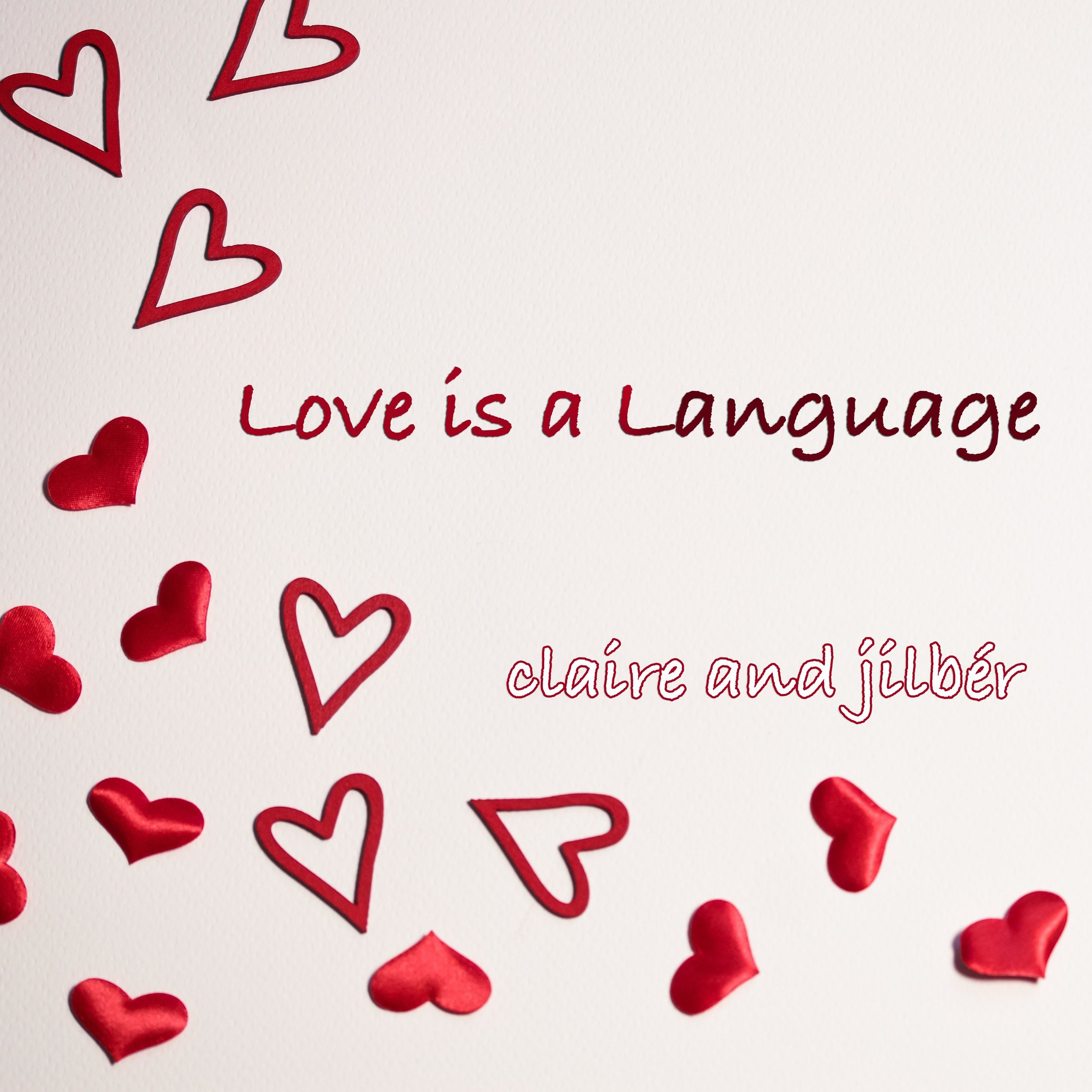 Verse 1 Claire: I say forever I say together Jilber: Je dit toujours toi et moi mon amour  Claire: I say I love you and I'm here to stay Jilber: Je dit je t'aime tu est la creme de la creme  Chorus: Duet: love is a language Love is a flavor I want to savor every moment with you  Love is a language love is a flavor I look in your eyes and I know that it's true.  Verse 2: Claire: I hear you whisper it sends a shiver Jilber: Tu est luxor Tu est haute a couture  Claire: I hear your heartbeat when you call my name Jilber: Je t'end ton cour remplis de colour  Chorus: Duet: love is a language Love is a flavor I want to savor every moment with you  Love is a language love is a flavor I look in your eyes and I know that it's true.  Bridge Jilber: I will be your now And we'll be ever after. Claire: This was meant to be Something like destiny And I will always know your mind  Chorus B Jilber: Love is a blanket Love is an arrow Love is so easy when I do it with you  Chorus A Claire: love is a language Love is a flavor I want to savor every moment with you  Love is a language love is a flavor I look in your eyes and I know that it's true.  Duet: love is a language Love is a flavor I want to savor every moment with you Yes I want to savor every moment with you Claire: et je dit je t'aime Jilber: and I do too