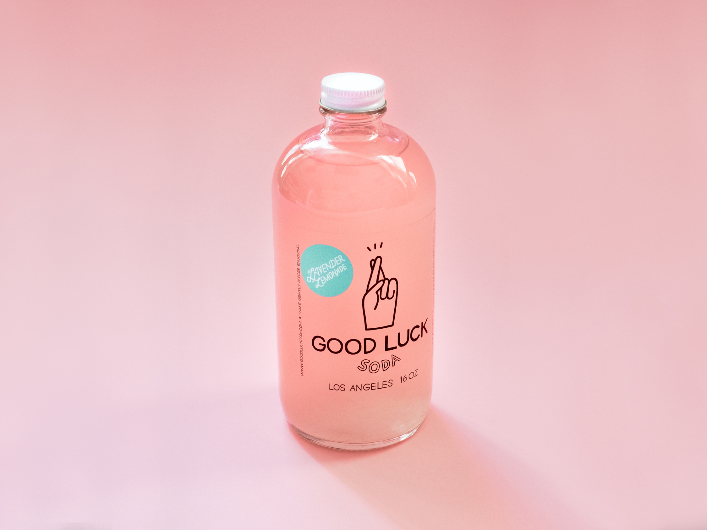 Co-Founder and art director for small local Los Angeles soda company,  Good Luck Soda . Responsible for all brand identity, logo design, packaging design, and creative content involving graphic and illustrations.