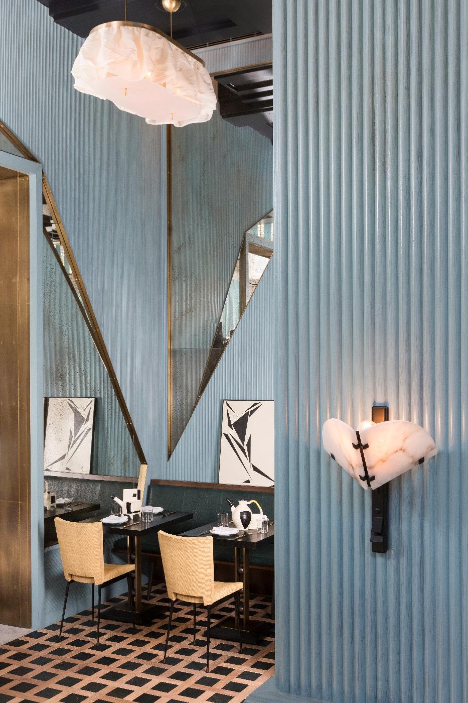 Kelly Wearstlers Latest Design - Villon San Francisco Proper