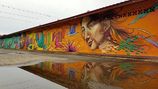 Corredor cultural. Ciudad del Saber. Artistas: @sinlessoner @hey_teks @studioinsano Producción: @canvasurbano #muralescds