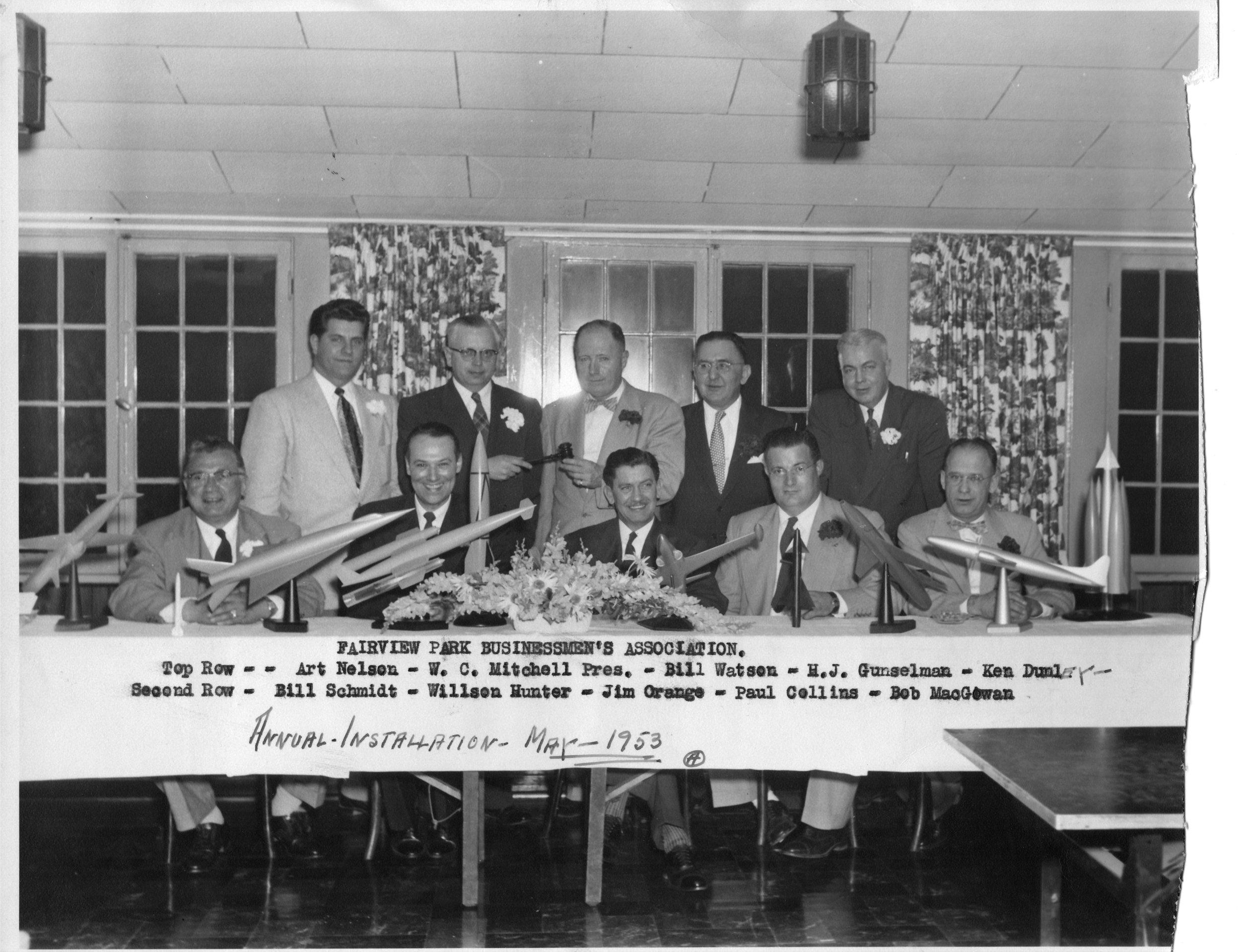 Fairview Park Businessmen's Association 1953.jpg