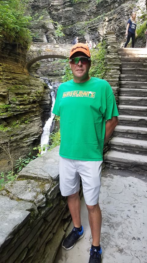 Greg Schmitz 8/5/19 - Greetings from Watkins Glenn State Park!
