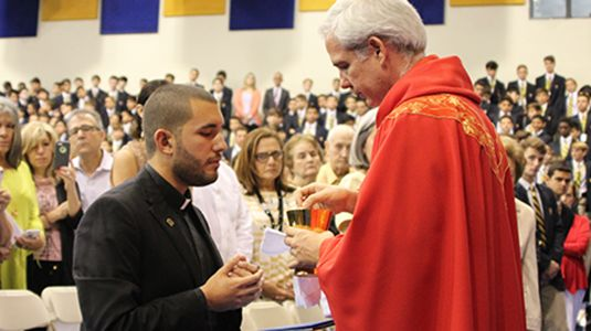 """MY VOCATION STORY: """"All is Gift, All is Grace"""" - My vocation story has been and continues to be the ongoing journey to learn to what it means to live """"Eucharistically"""": blessed, broken, and shared for others."""