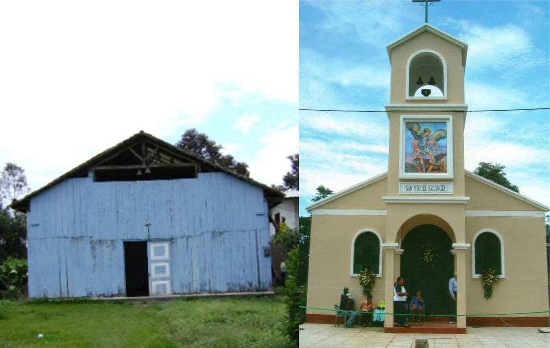 The church transformation in Ecuador: before and after