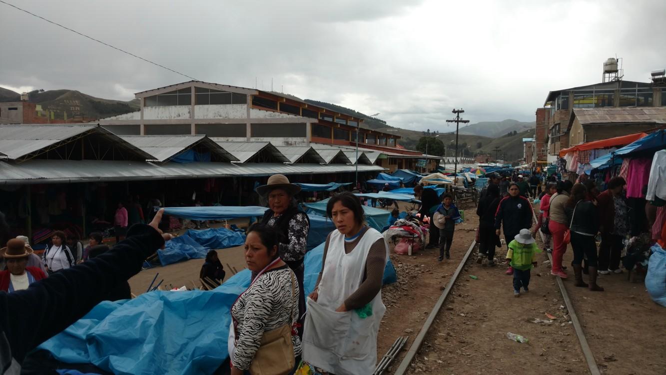 Main market in Sicuani