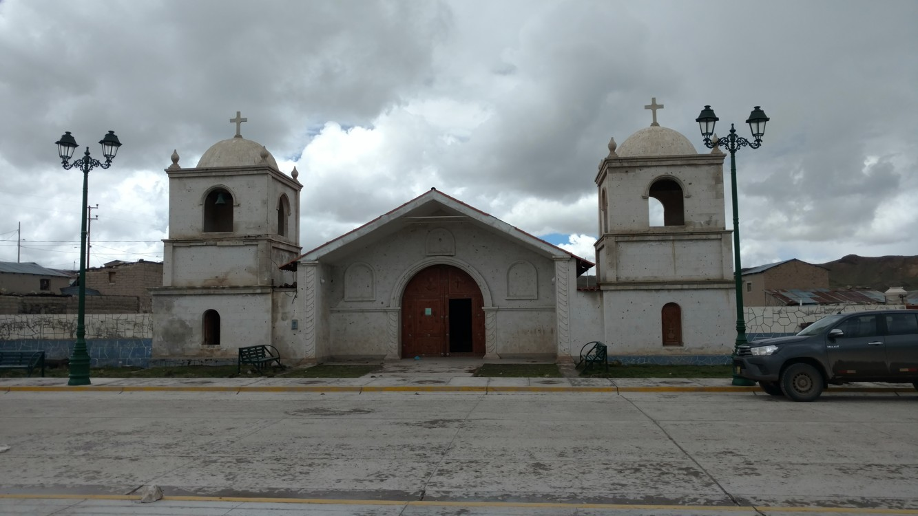 A church we visited for Mass on Sunday after driving two hours. No one showed up!