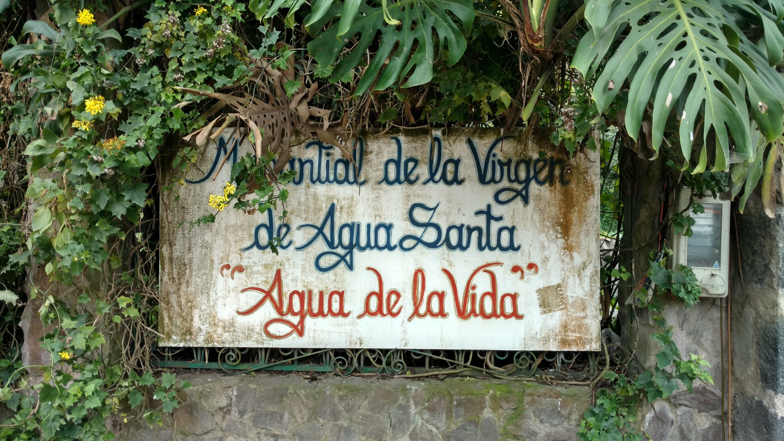"""Spring of the Virgin of Holy Water, """"Water of Life"""""""