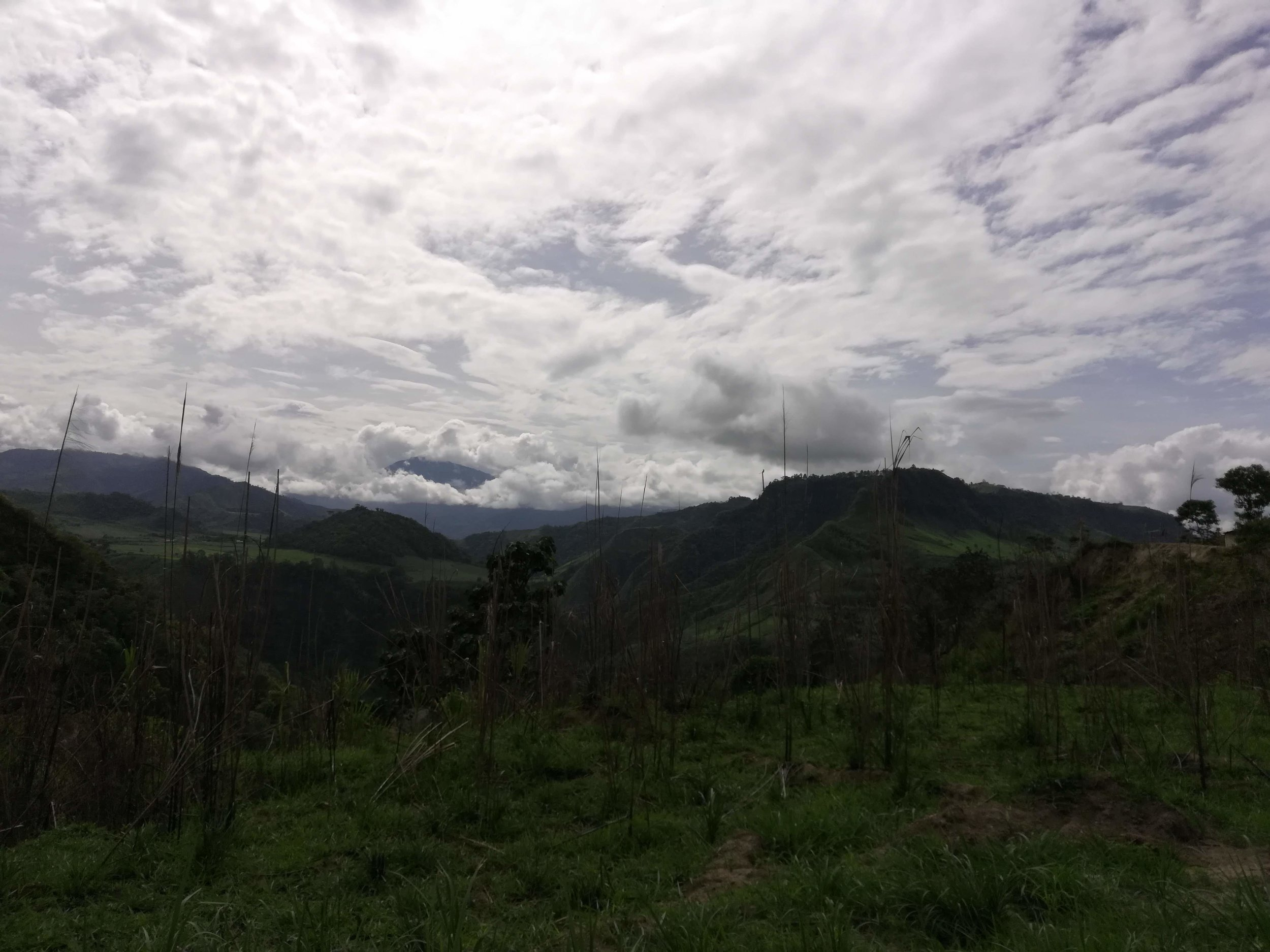 Through the Andes, on the way to Otavalo