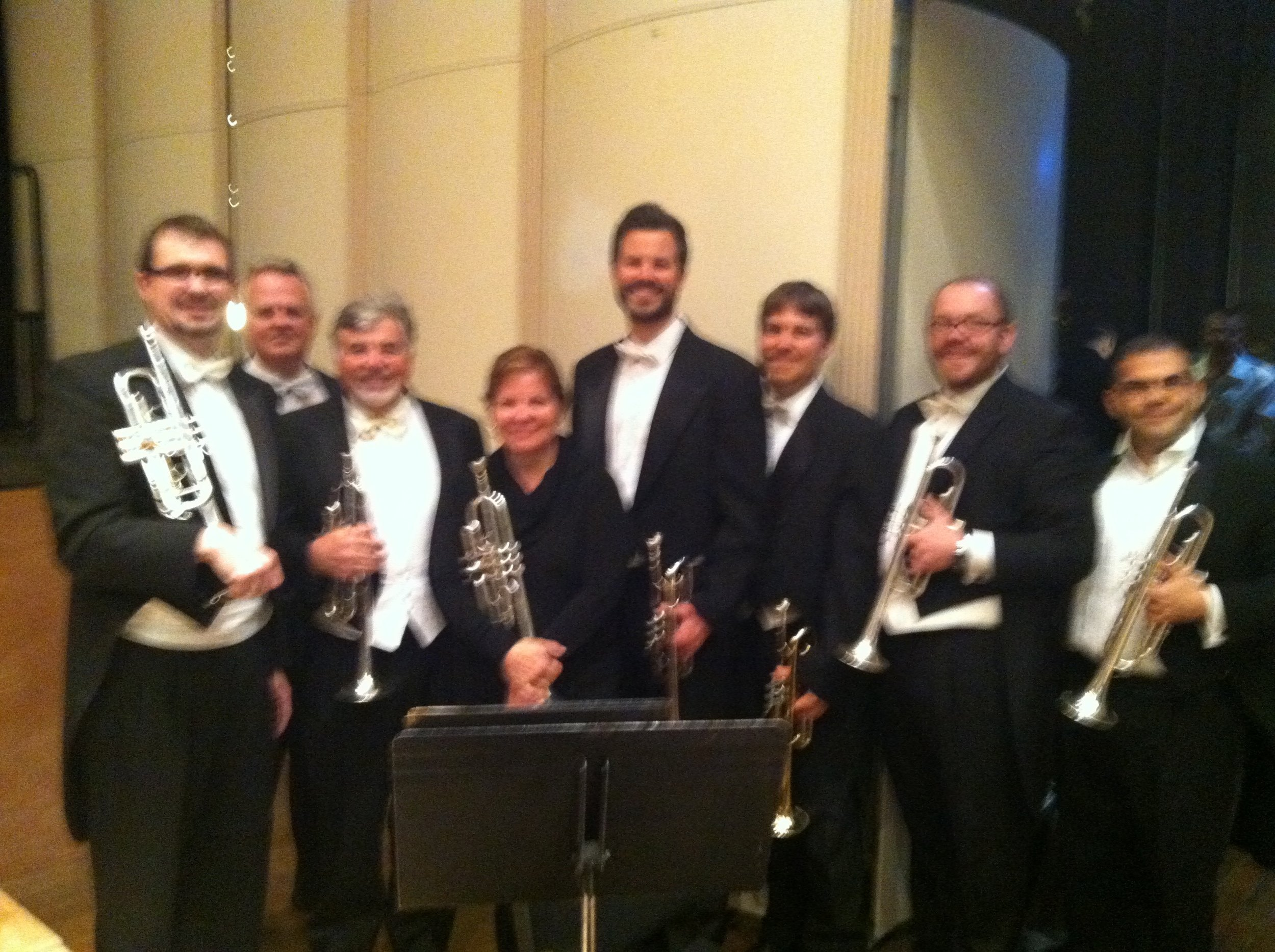 Rhode Island Philharmonic Mahler 2 trumpet section