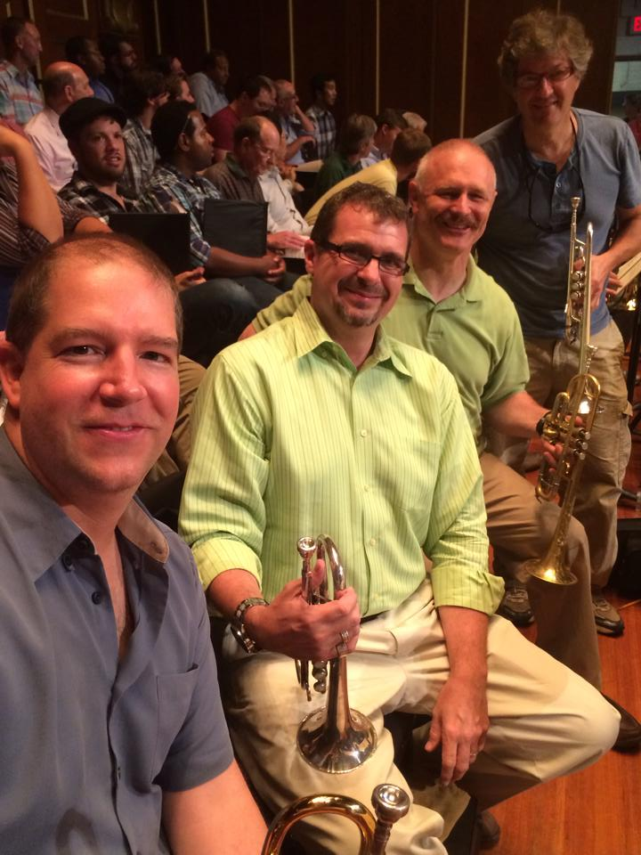 Odessy Opera cornets and trumpets- Tony Gimenez, Terry Everson, and Dana Oakes