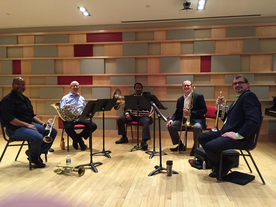NEC Prep Faculty Brass Quintet