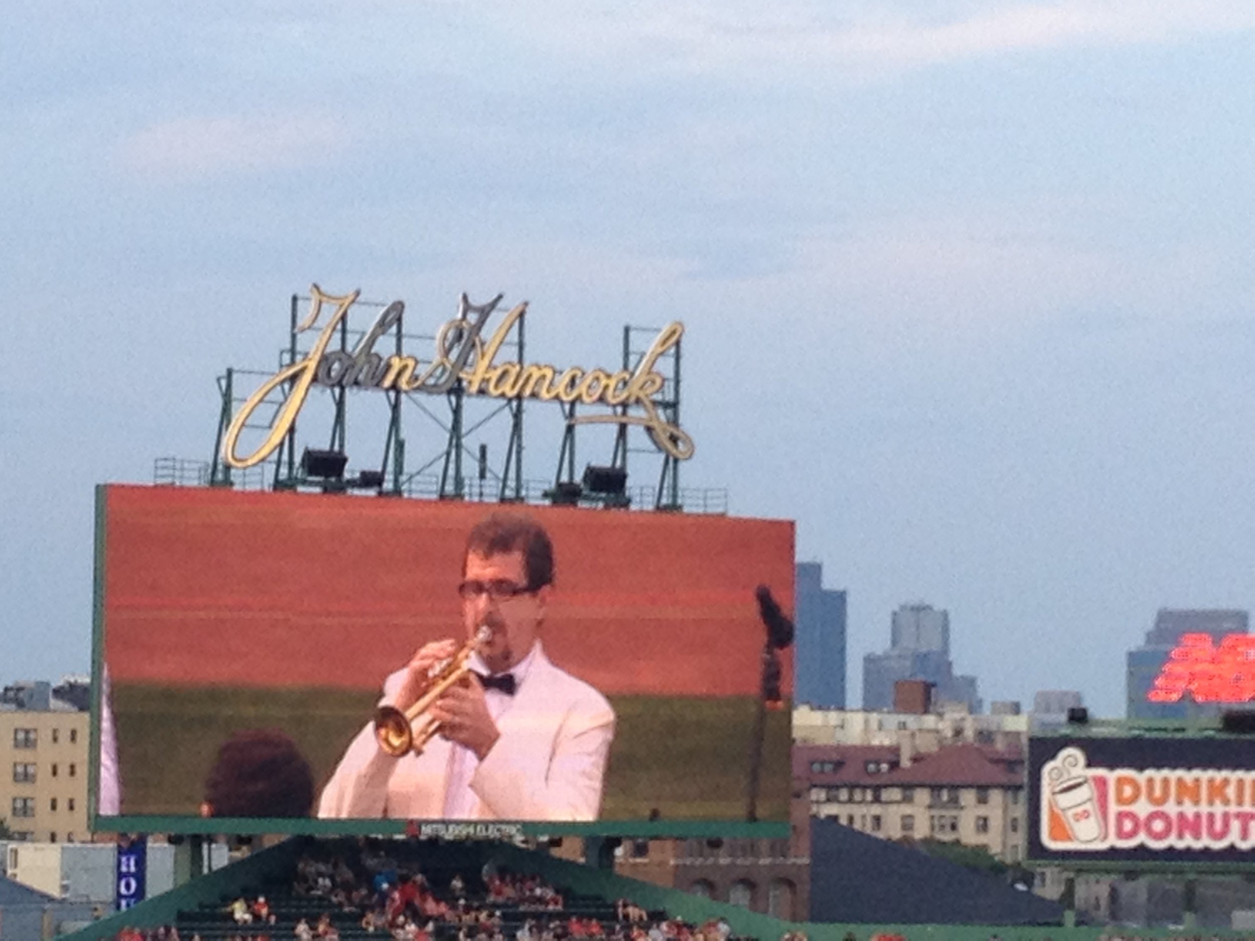 Andris Nelsons Day at Fenway Park, Boston