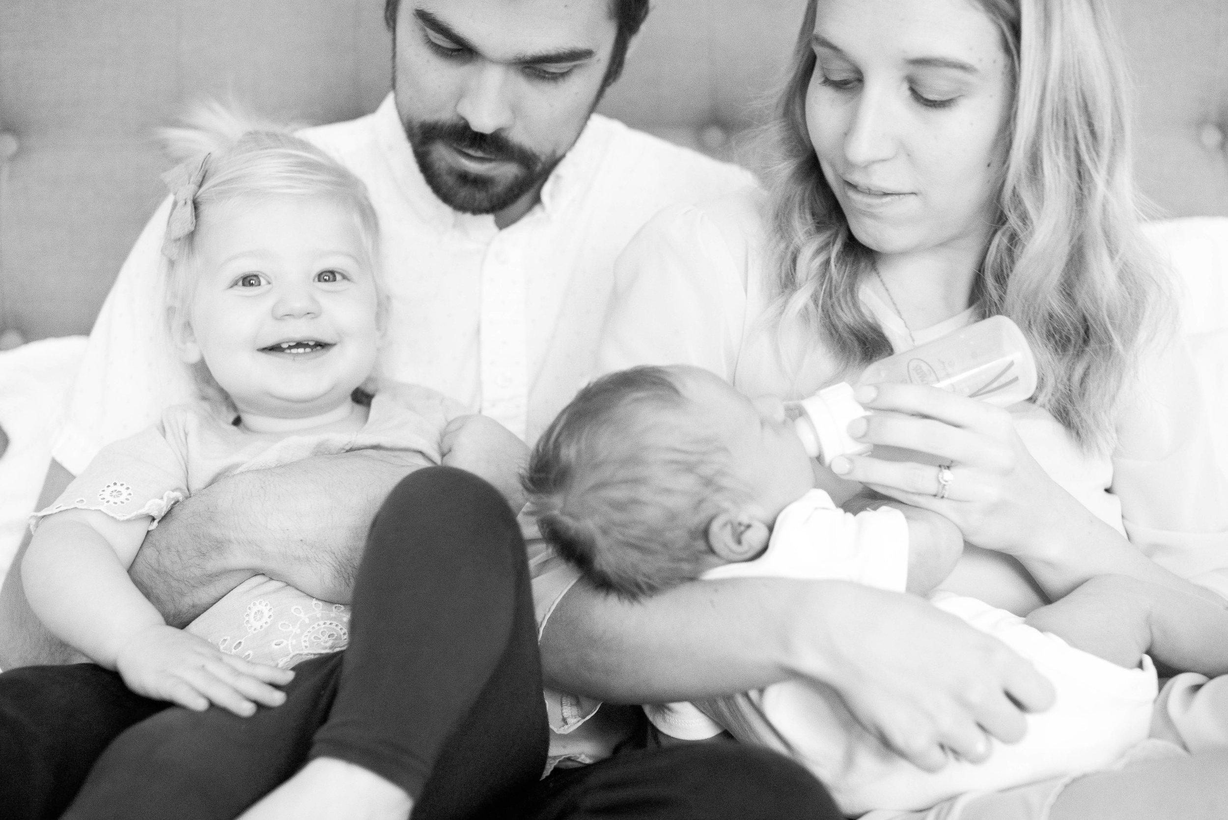 Lifestyle Newborn Session,  Kacey Gilpin Photography