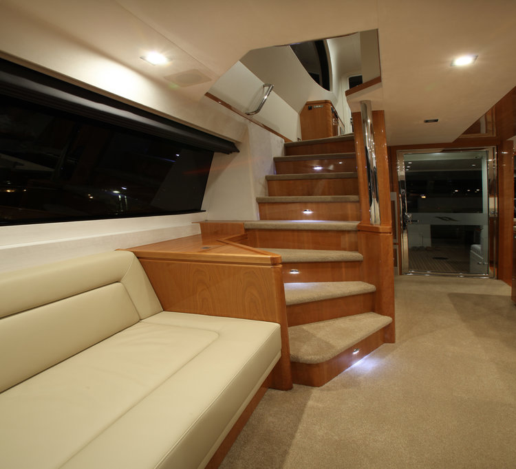 Salthouse Icon 54 motor yacht stair