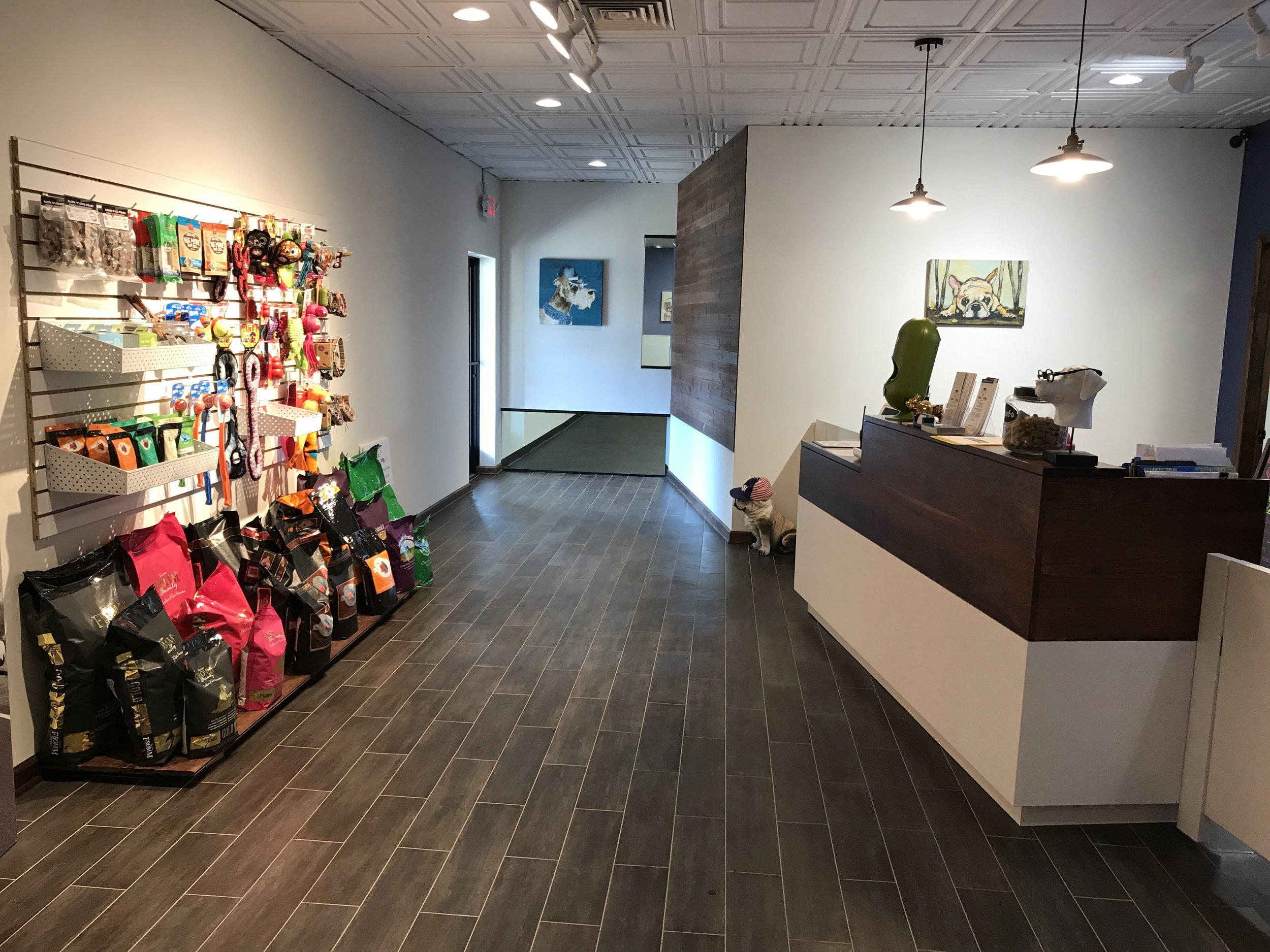 Lobby and Retail