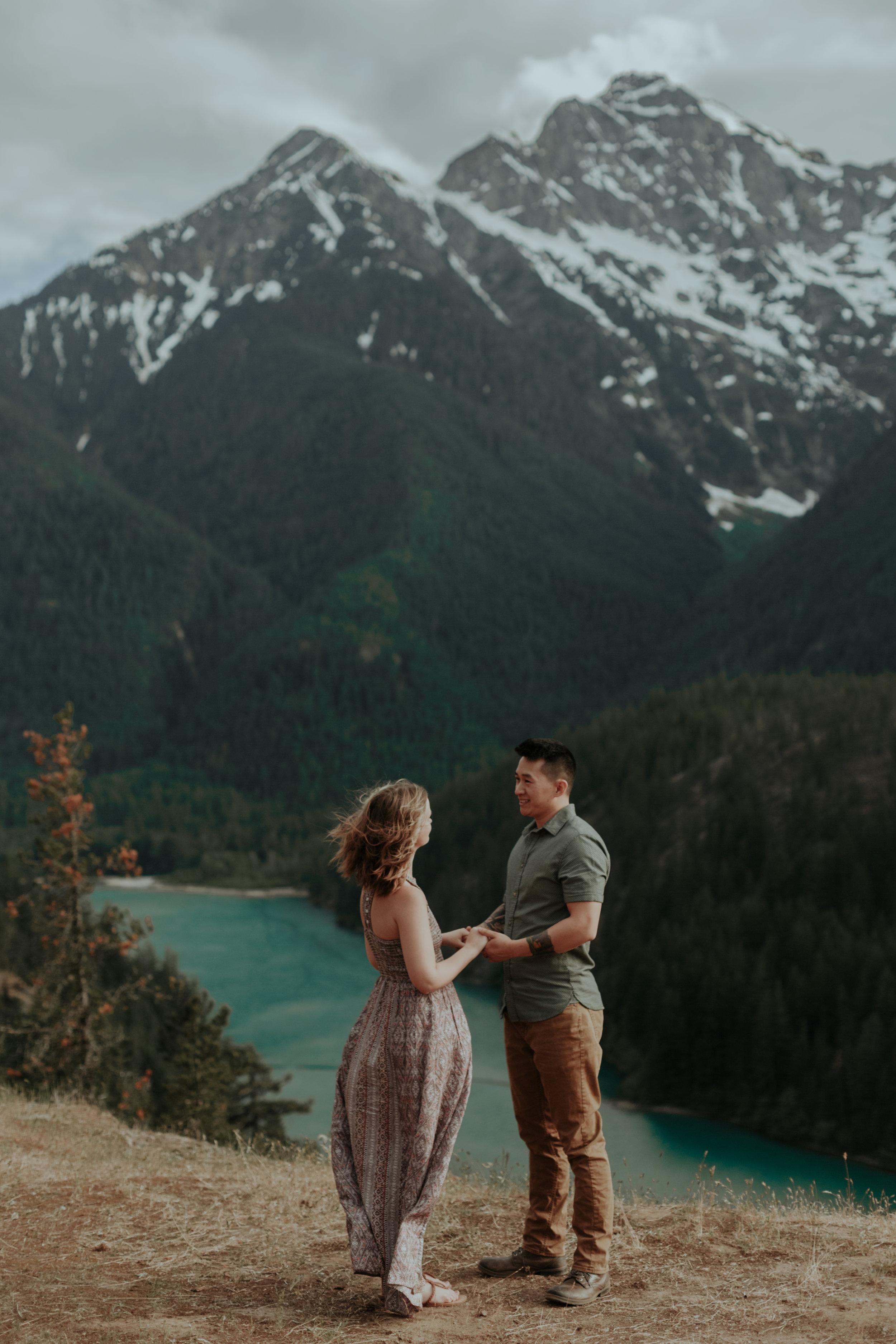 Diablo Lake, Washington - Engagement