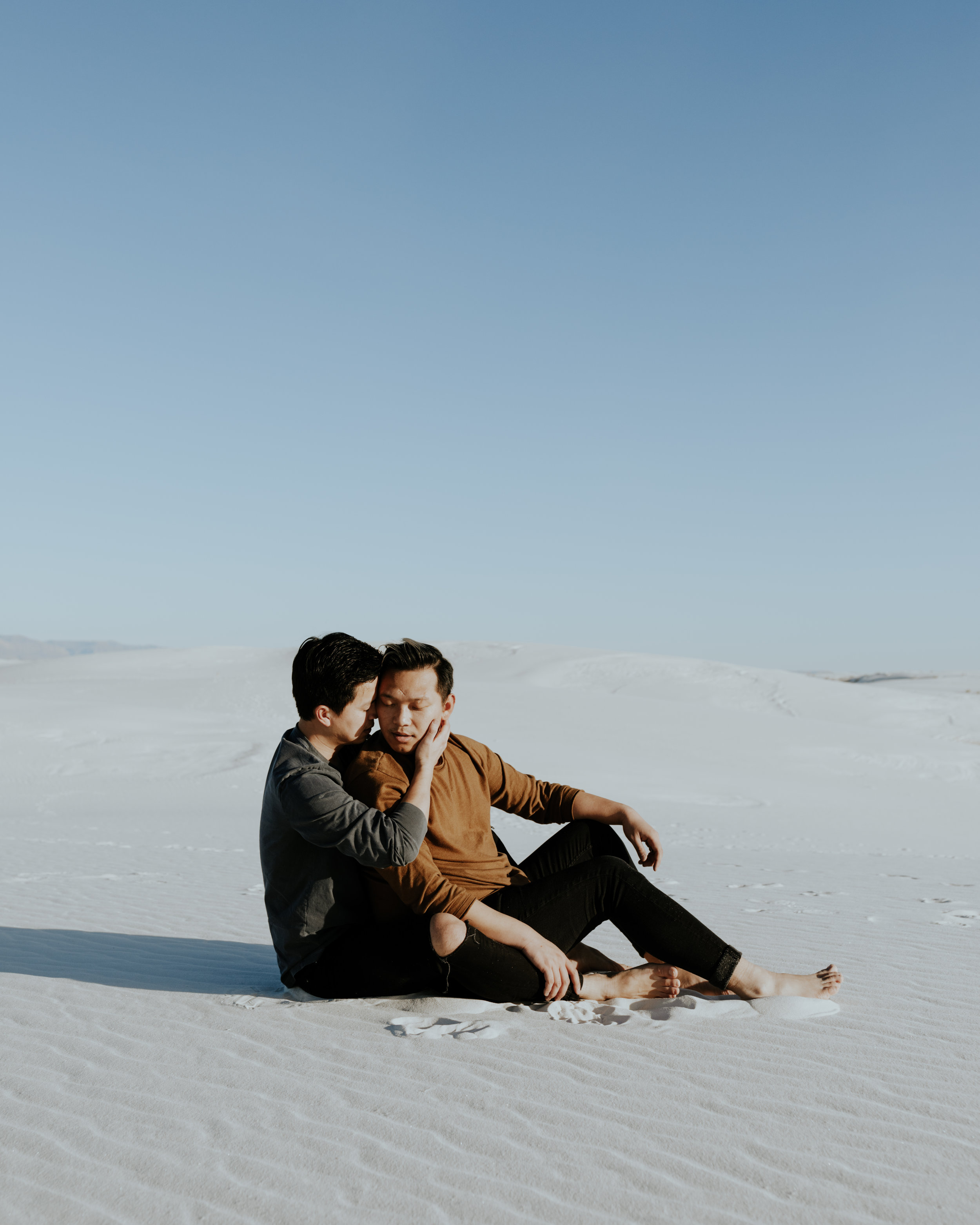 White Sands, New Mexico - Couples Session