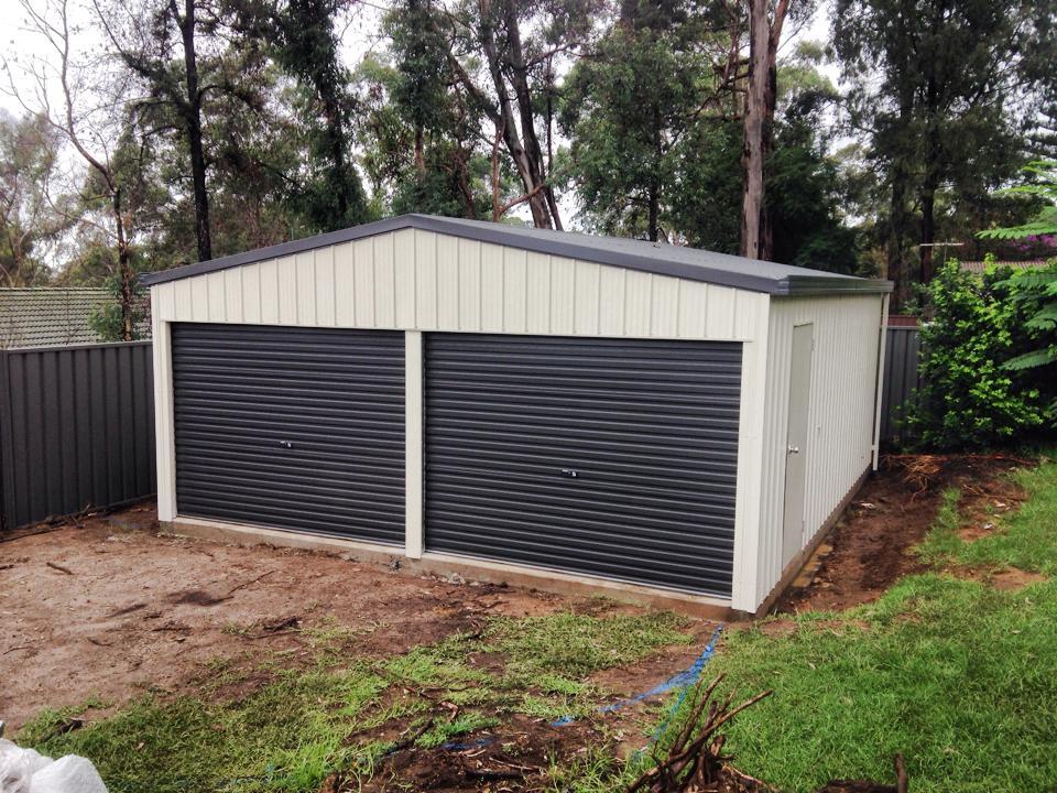 Deluxe model double garage