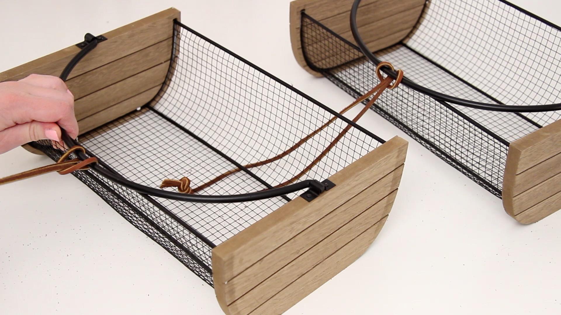 DIY Tiered Hanging Fruit Basket