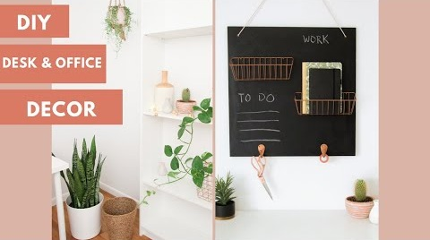 DIY+Chalkboard+Wall+Storage+Organizer