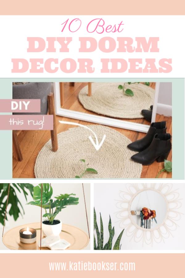 10 Best DIY Dorm Decor Ideas
