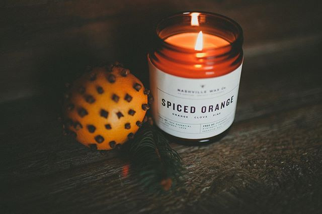 Fill your home with the smell of fall! Spiced Orange is a perfect starter candle if you have never tried a Nashville Wax Co. candle before. Smell and feel the difference that these safe ingredients make! All our candles have only 2 ingredients, 100% local beeswax, 100% essential oils. + + + + #nontoxic #safe #nochemicals #airpurifying #madewithyouinmind #insta #instagram #instadaily #instacandle # instagood #nashville #tennessee #instamood #fall #fallcandle #safecandle #nontoxiccandle candlerevolution