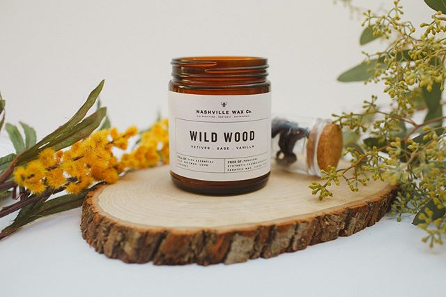 If you are wondering what candle to start with if you have never tried a Nashville Wax Co candle before, we recommend Wild Wood! It's amazing!! 🙌🏻🕯🙌🏻🕯 - - - - - - - #nashville #franklintn #candles #candlerevolution #livefree #insta #instagood #instamood #instavibes #instagram #beeswax #nontoxic #healthycandles #adventure #safecandles #candle #nashvillecandle