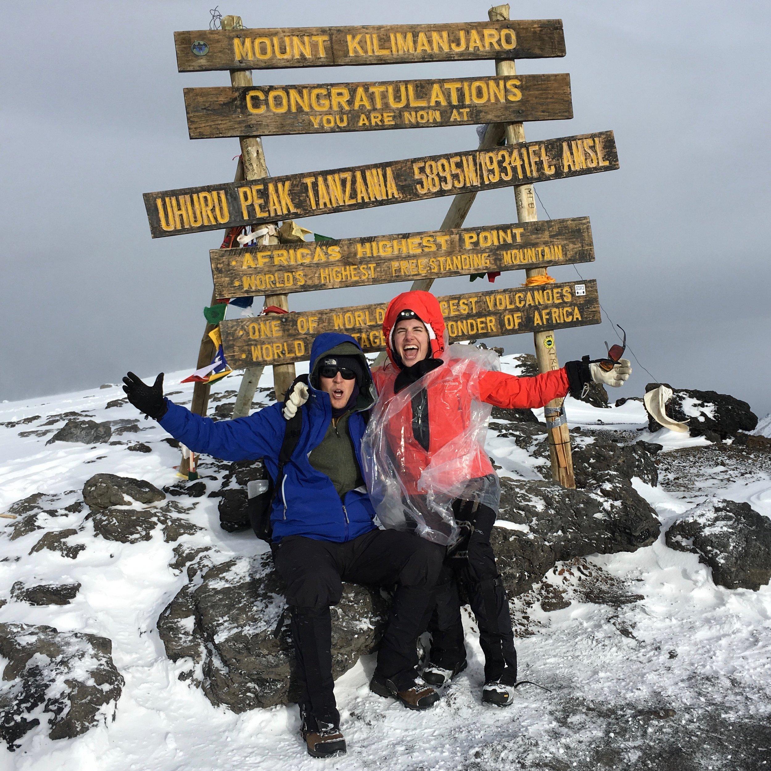 Uhuru Peak, Mt. Kilimanjaro, Tanzania