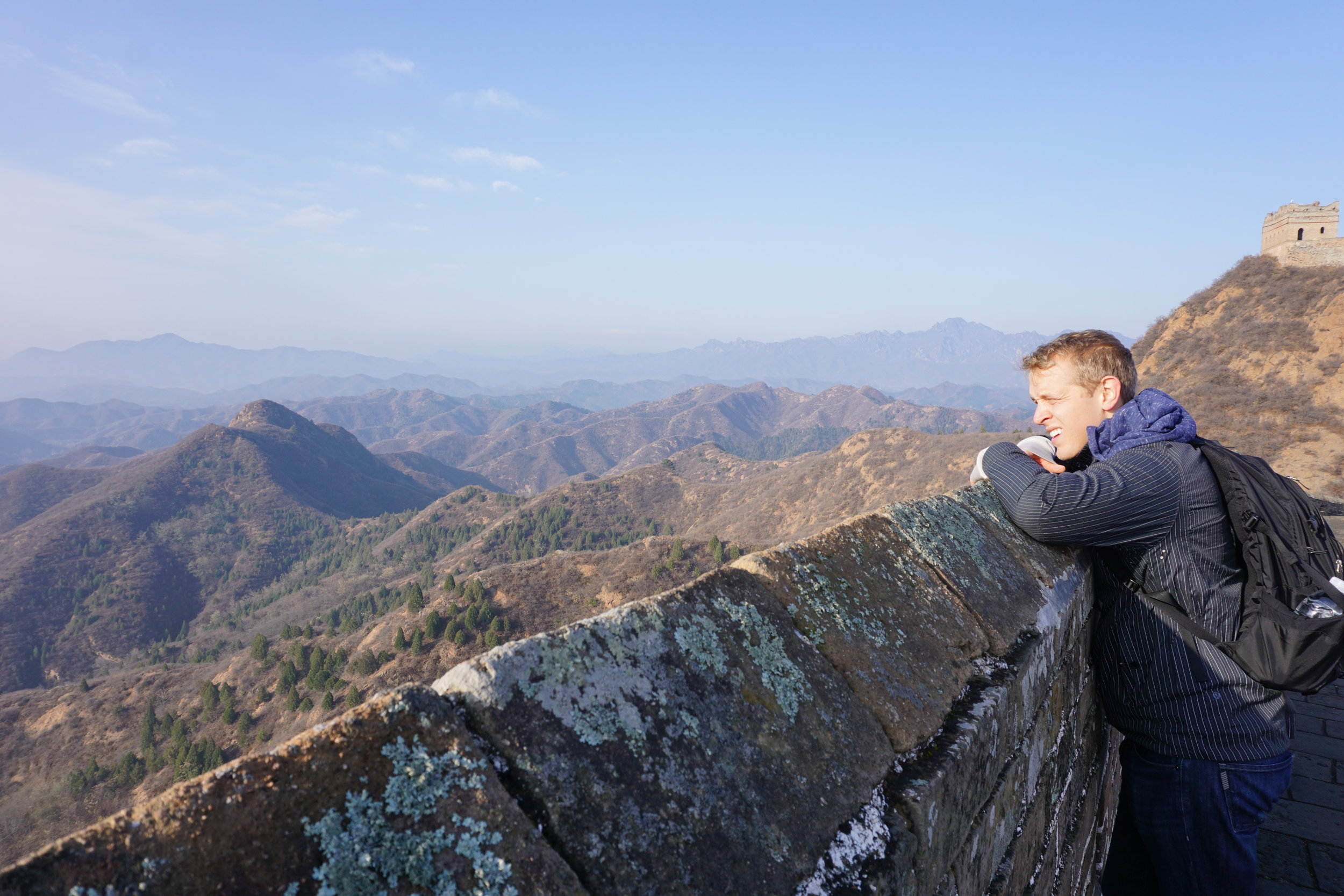 Viewing the Mountain Ranges