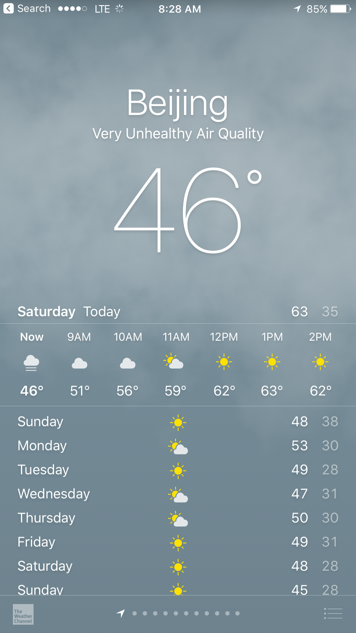 Apple Weather