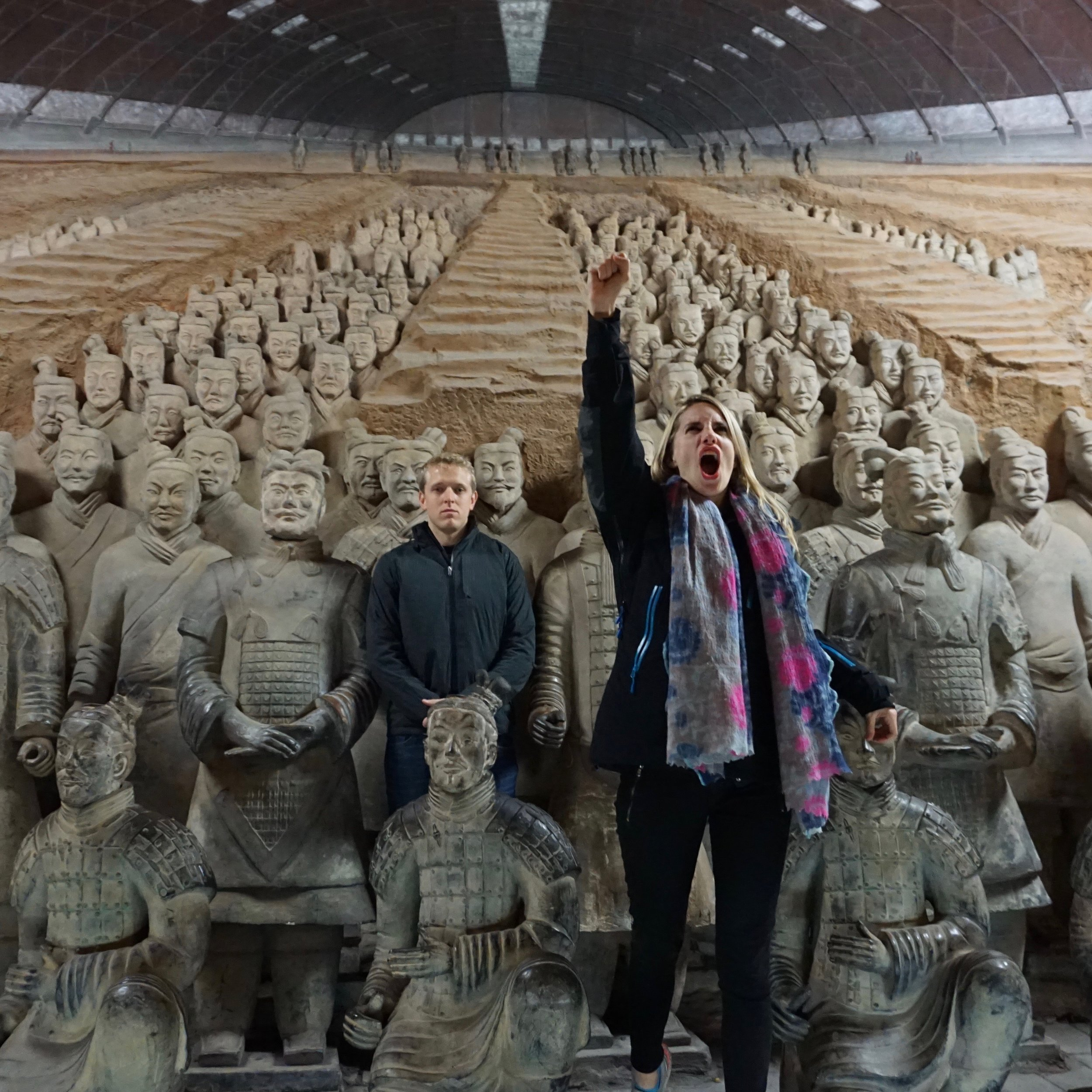 Xian Terracotta Soldiers - Annie McNerney