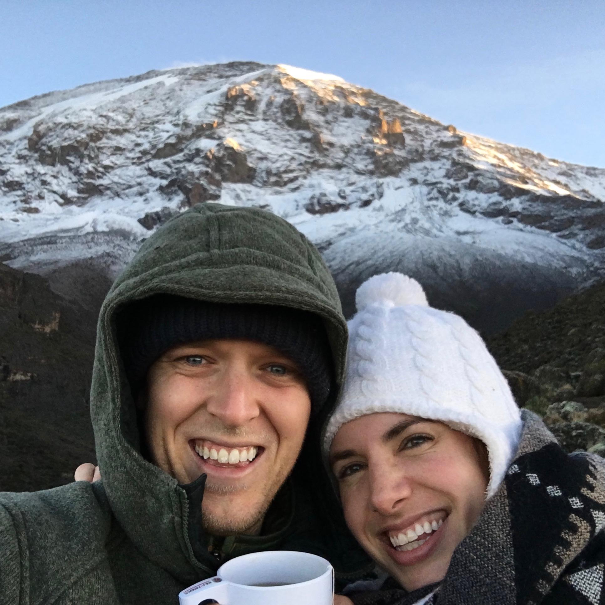Kilimanjaro at 14,000 feet