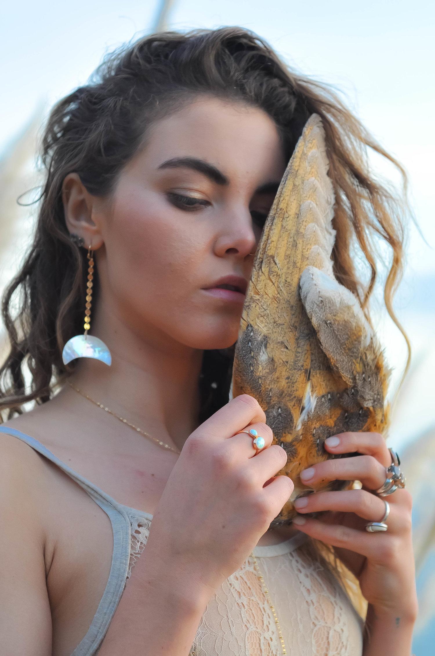 Skullptress Jewelry Alea Rain Big Sur Californiajpg