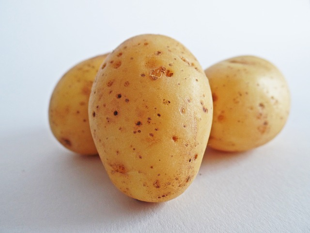 Eating carbohydrate-rich foods such as potato will cause an increased release in insulin.